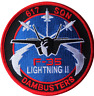No. 617 Dambusters Sqn RAF F-35 Lightning II Round Embroidered Patch
