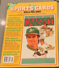 Allan Kaye's Sports Cards Magazine May 1992 Jose Canseco w/Mint Cards Magic KC