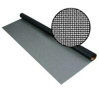 72 in. x 25 ft. charcoal fiberglass screen 20 x 20 no-see-um mesh | phifer door