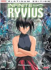 Infinite Ryvius - Vol. 5: Retribution (DVD, 2004) NEW