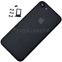 iPhone 7 Alu Rahmen Schwarz Gehäuse+Tasten+SIM-Slot Rückseite Backcover NEU TOP!