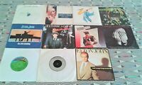 """11 X Elton John  7"""" Singles All Vinyl  EXCELLENT. 9 PICTURE SLEEVES See 8 Images"""