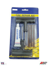 Motorcycle/Car Tubeless Tyre Puncture Repair Kit Tool Tire Plug Auto 3 Strip