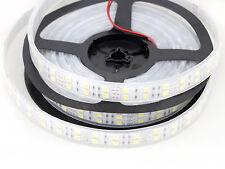 NEW 5M 5050/3528 SMD Double Row 600/1200 LED Flexible Strip Lights Xmas Decor US