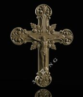 3D STL Model JESUS & CROSS 2 for CNC Router 3D Printer Engraver Carving Aspire
