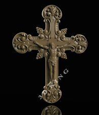 3D STL Model JESUS & CROSS 2 for CNC Router 3D Printer Engraver Carving Aspire