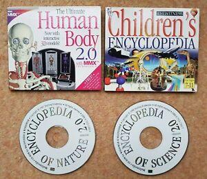 Dorling Kindersley Computer Encyclopedias. Science, Nature & Human Body. 1997/98