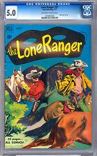 LONE RANGER #31 CGC 5.0 LEGENDARY GOLDEN AGE MASKED AVENGER WESTERN SERIES 1951