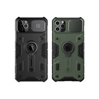 For iPhone 11 Pro Max Nillkin Armor Case Outdoor Sport Has Kickstand Slide Cover