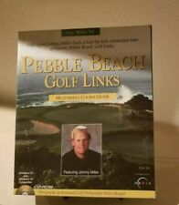 Pebble beach golf links Multimedia Course Guide for pc, Maxis, Win 3.1 and 95