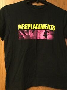 The Replacements - Black Shirt.  Ladies Cut.  No Tag.