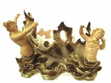 Table Centrepieces Sitzendorf centrepiece with mermaids Dates c1870
