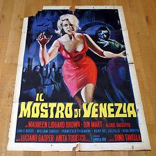 IL MOSTRO DI VENEZIA manifesto poster affiche Tavella Horror Venice The Embalmer