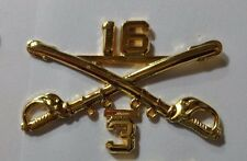 U.S.ARMY,OFFICER BRANCH OF SERVICE COLLAR DEVISE,,3RD SQUADRON,16TH CAVALRY