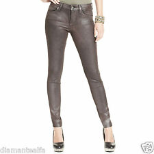 GUESS Women's Brittney Ankle Skinny Jegging – Brown Metallic sz 27