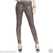 Da Donna H/&M Skinny Fit Jeggings rivestito in Pelle Jeans Nero taglia 4 a 22