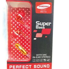 SNA-114 Super Bass Headphone - red