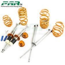 Adj. Lowering Suspension Coilovers Kit fits AUDI A6 4B C5 VW PASSAT 3B 3BG Coils