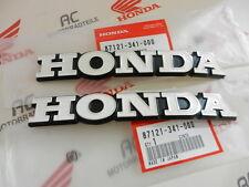 Honda CB 500 cuatro k1 tankembleme fuel tank emblema set new 2x87121-341-000