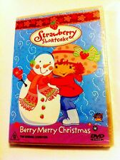 Strawberry Shortcake: Berry Merry Christmas - Volume 2 Region4 DVD - BRAND NEW