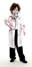 zombie doctor SURGEON kids boys halloween costume L