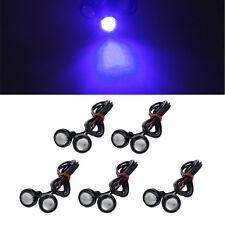 10X 9W High Power 12V Car LED Eagle Eye 18mm Car Motor Fog DRL Backup Light Blue
