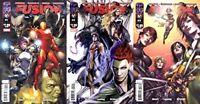 Fusion #1-3 (2009) Top Cow Comics - 3 Comics