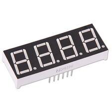 """Display LED 7-Segmenti 4-Cifre Rosso Inteso Anodo Comune 0.56"""" Common Arduino"""