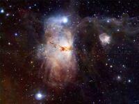 HUBBLE SPACE TELESCOPE FLAME NEBULA POSTER PRINT ART 317PYA