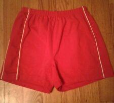 Womens Reebox Gym Running Aerobic Shorts in Red Sz M