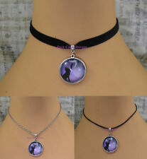 Silver Plated Round Costume Necklaces & Pendants 30 - 35 cm Length