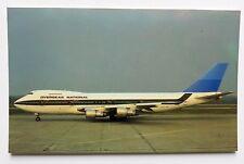 Overseas National Airways Boeing 747 Postcard