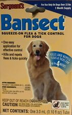 Sergeants Bansect Flea & Tick Squeeze-On For Dogs Over 33 lb