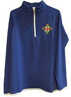 Northern Ireland OWC Half Zip Sweat Jacket, Embroidered NI badge