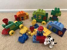 Lego Duplo 10558 Number Train Lot