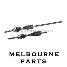 2 NEW CV JOINT DRIVE SHAFT HOLDEN JACKAROO 3.5L V6 (EXC SHIFT ON THE FLY )