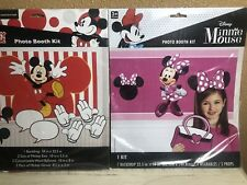 Disney MICKEY & MINNE  PHOTO BOOTH KITS BACK DROPS WEARABLES PROPS