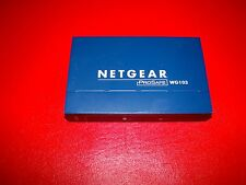 Netgear ProSafe WG103 802.11g Wireless Access Point 802.11b/g 54 Mbps keine AC Adap