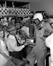 Dodge Charger & Richard Petty - Daytona 500 winner 1973 - paddock photograph