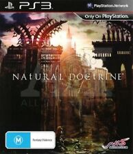 Natural Doctrine PS3 GAME (NEW SEALED)