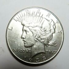 1935 AU BETTER DATE PEACE DOLLAR, FREE SHIPPING IN USA