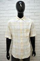 Camicia Uomo MARLBORO CLASSICS Taglia XL Maglia Polo Manica Corta Cotone Casual