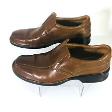 NEW Clarks Mens Escalade Step Slip-On SIZE 8.5 Loafers w Soft Cushion Ortholite