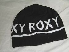 BNWOT - ROXY Ladies Knitted Beanie Hat  Black