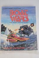 Steve Jackson Car Wars Boat Wars (2nd Edition) Box, Free 3 Day Shipping, NEW