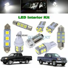 12x White LED Map Dome Light interior package kit fit 2000-2004 Toyota Tundra