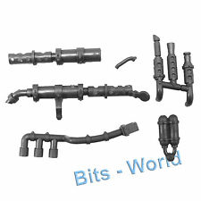 WARHAMMER 40K BITS: ORKS TRUKK - EXHAUST and PIPES