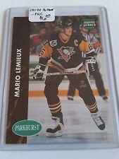 1991-92 Parkhurst PHC #PHC7 Mario Lemieux : Pittsburgh Penguins