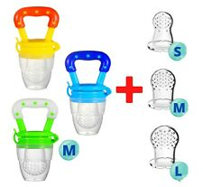 Baby Fresh Food Fruit Milk Safe NON-TOXIC Silicone Feeding Pacifier Nipple Teeth
