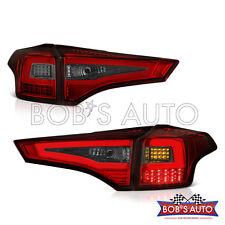 2013 2014 2015 Toyota Rav4 Red Smoke OLED Neon Tube High Power LED Tail Lights